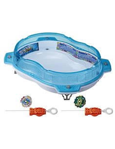 BEYBLADE  ESTADIO HYPERSPHERE CAIDA VERTICAL