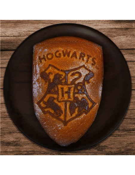 HARRY POTTER - MOLDE - HOGWARTS NEGRO 26x20x3CM
