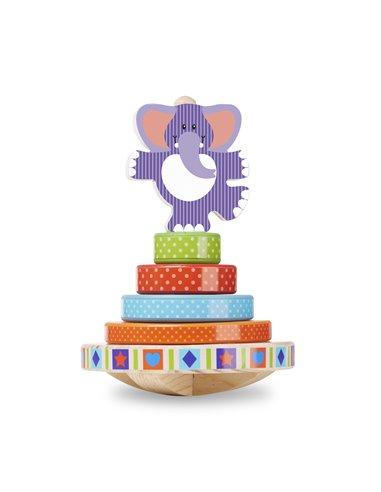 Elefante basculante apilable 6 piezas M&D
